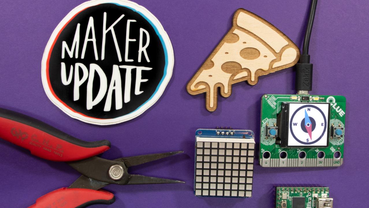 Pizza Navigation [Maker Update] | Maker.io