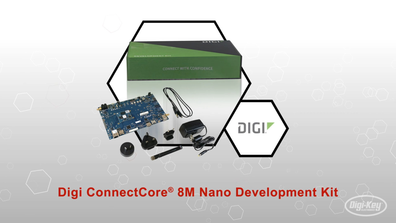 Digi ConnectCore® 8M Nano Development Kit | Datasheet Preview