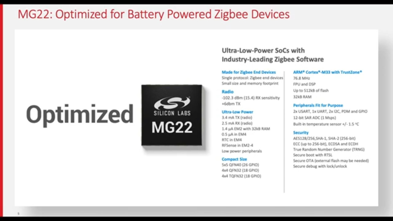 Enable Eco-Friendly Products with MG22 Zigbee SoCs - Silicon Labs