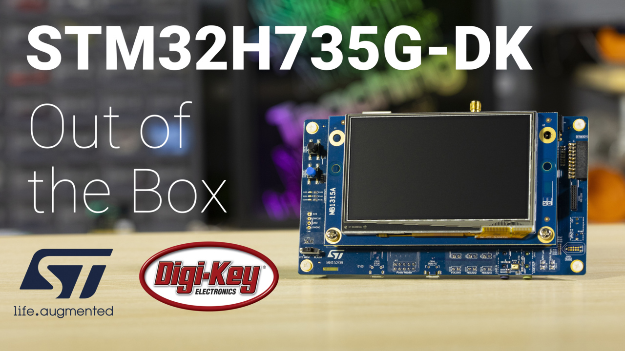 STM32H735G-DK Out of the Box