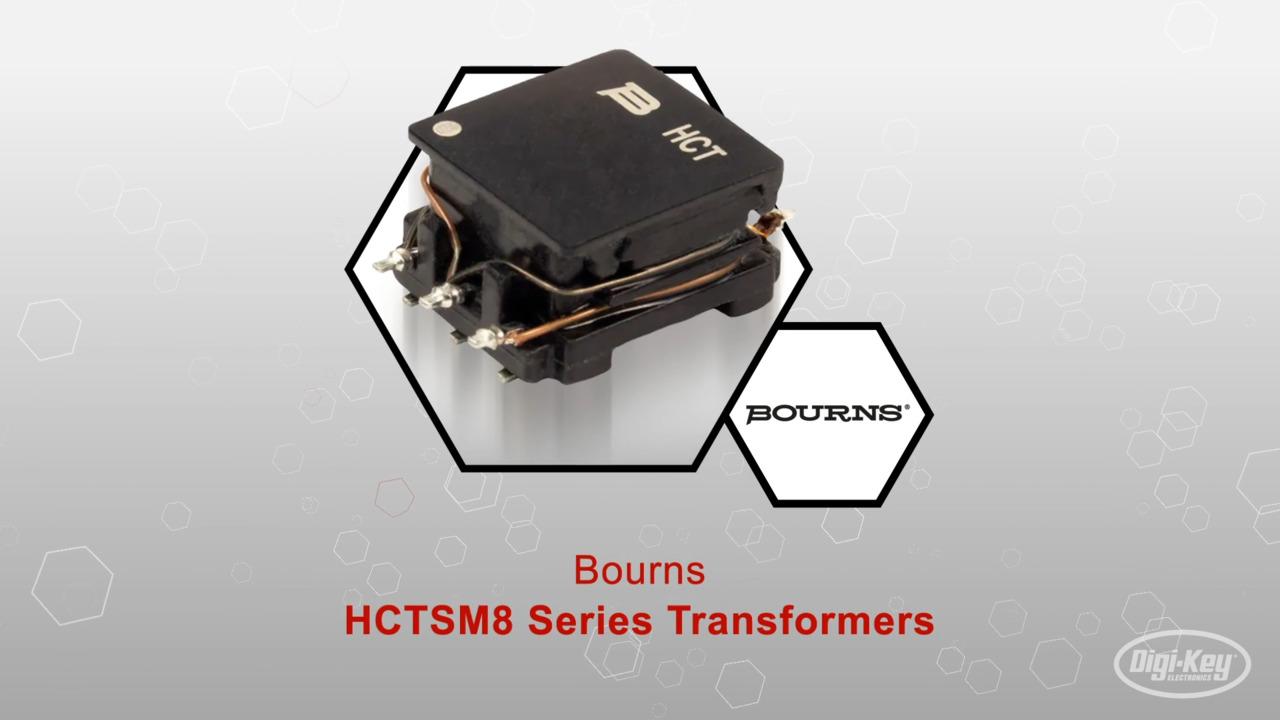 HCTSM8 Series Transformers   Datasheet Preview