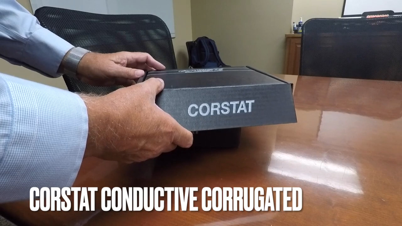 Conductive Container, Inc. CorrecPak Shippers