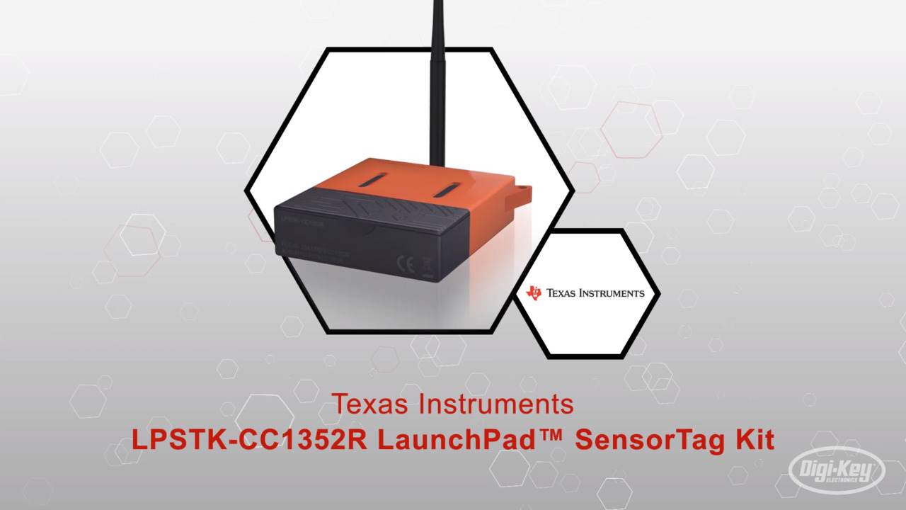Texas Instruments  LPSTK-CC1352R LaunchPad™ SensorTag Kit | Datasheet Preview
