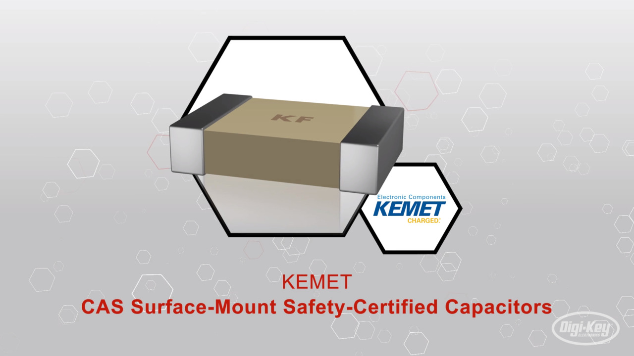 KEMET CAS Surface-Mount Safety-Certified Capacitors | Datasheet Preview
