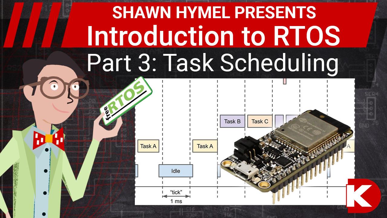 Introduction to RTOS Part 3 - Task Scheduling | Digi-Key Electronics