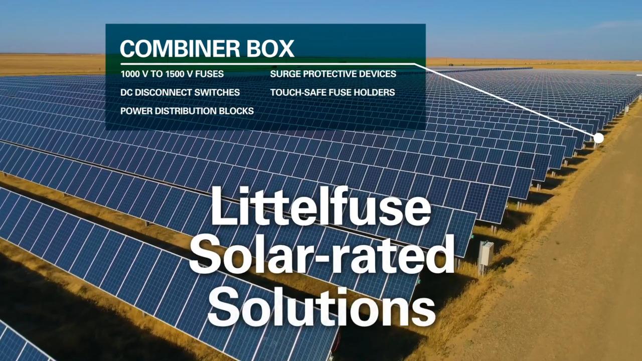 Renewable Energy Circuit Protection