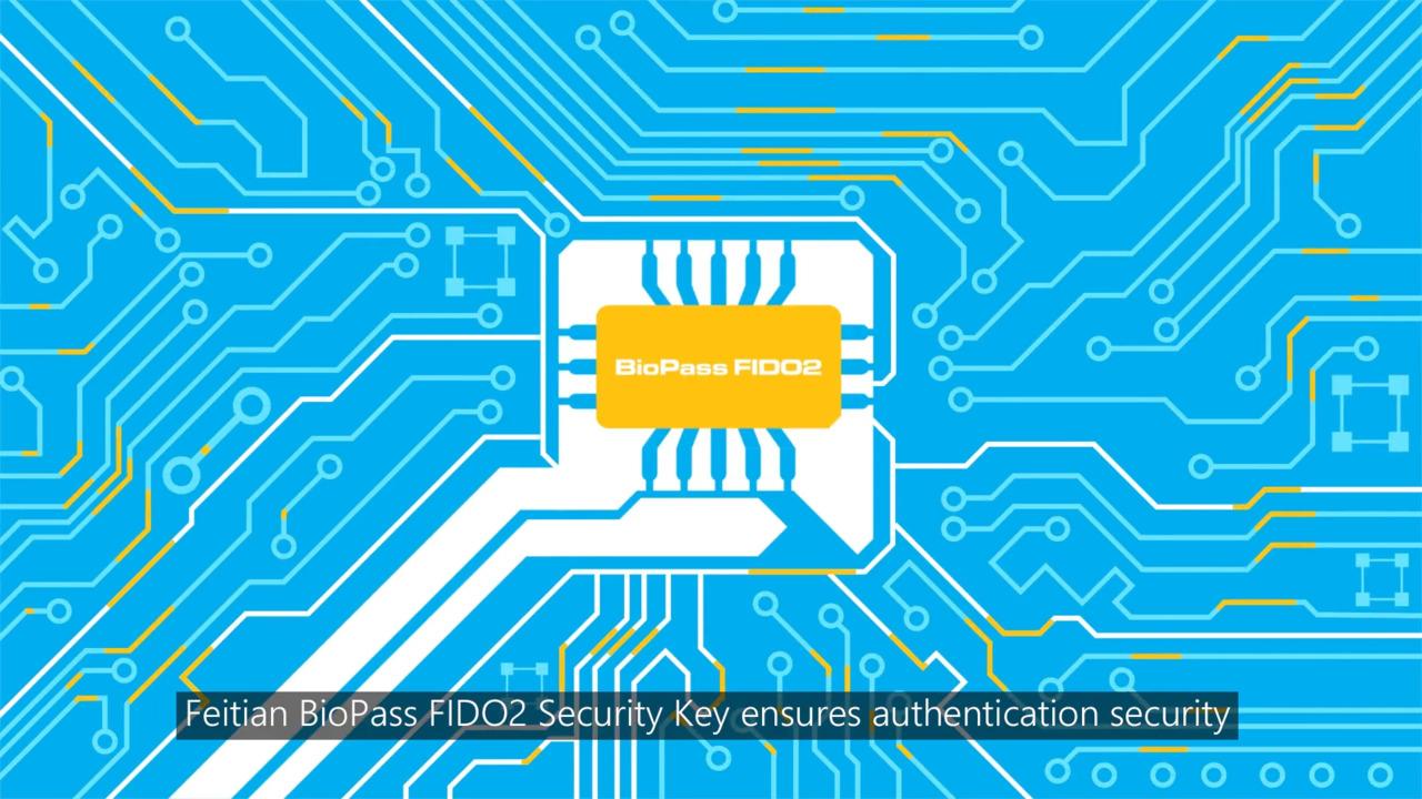 FEITIAN Security Key for Windows Hello - BioPass K26, K27, K33