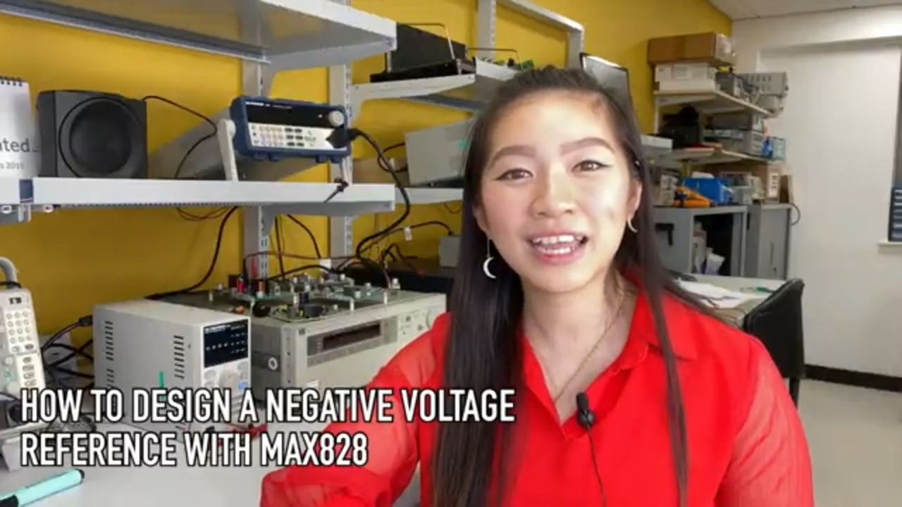 How to Design a Negative Voltage Reference Using MAX828
