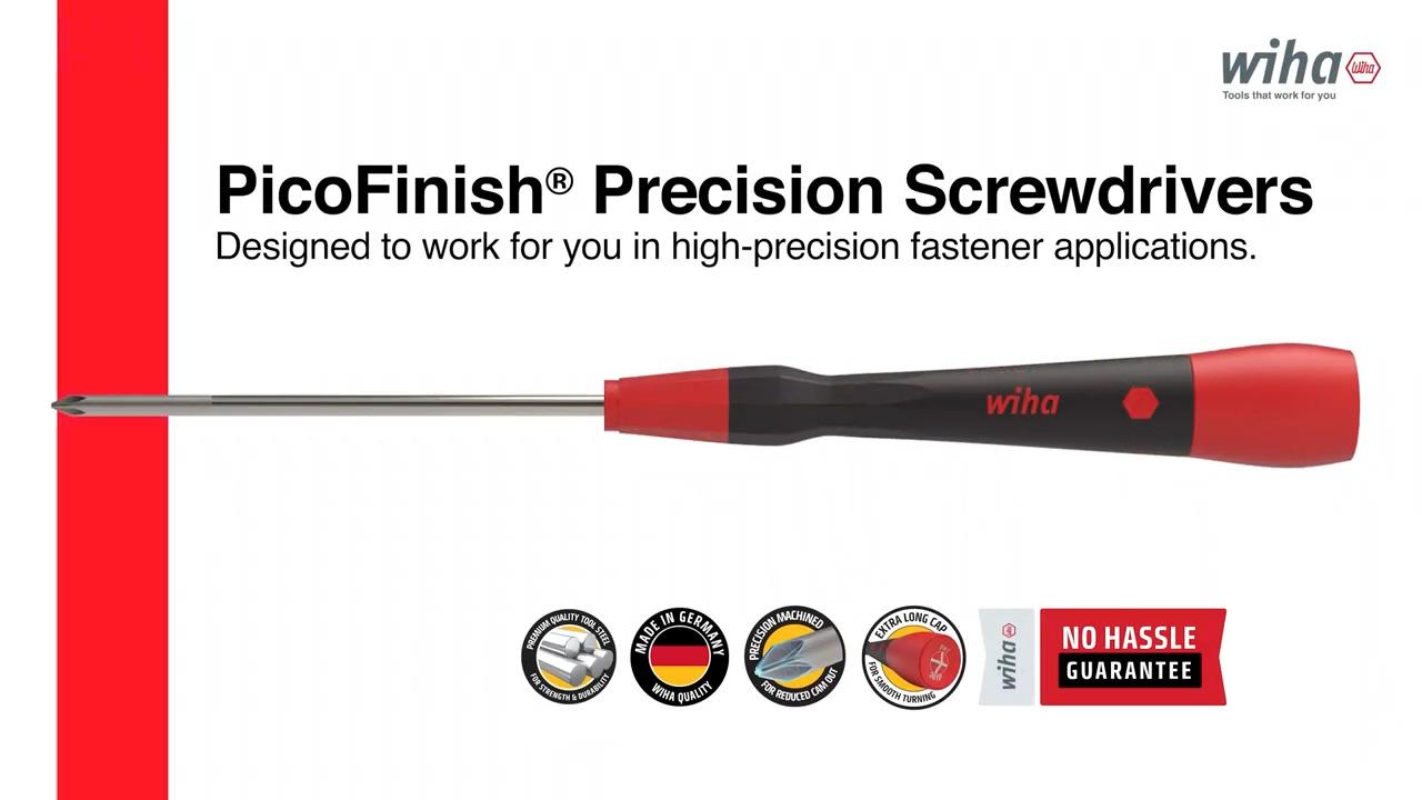 Wiha Tools PicoFinish Precision Screwdrivers