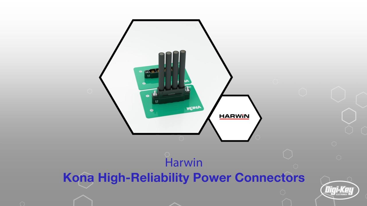 Kona High-Reliability Power Connectors | Datasheet Preview