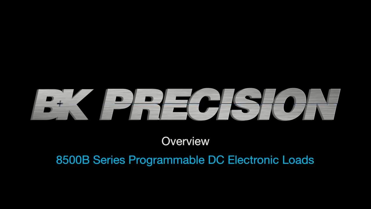8500B Series Programmable DC Electronic Loads