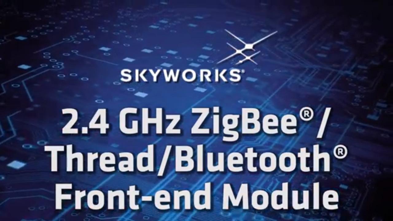 SKY66403-11; 2.4 GHz ZigBee®/Thread/Bluetooth® Front-End Module