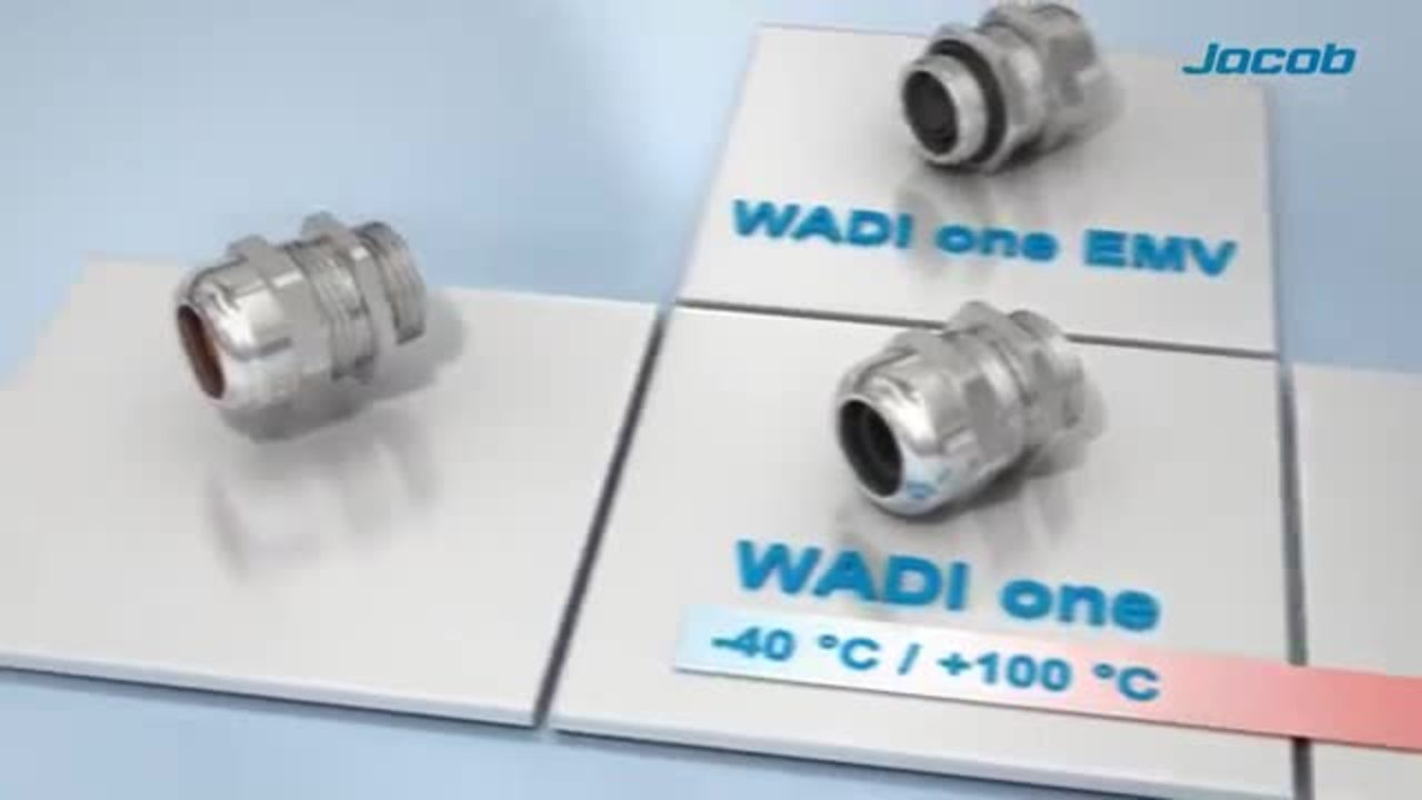 The WADI cable gland family