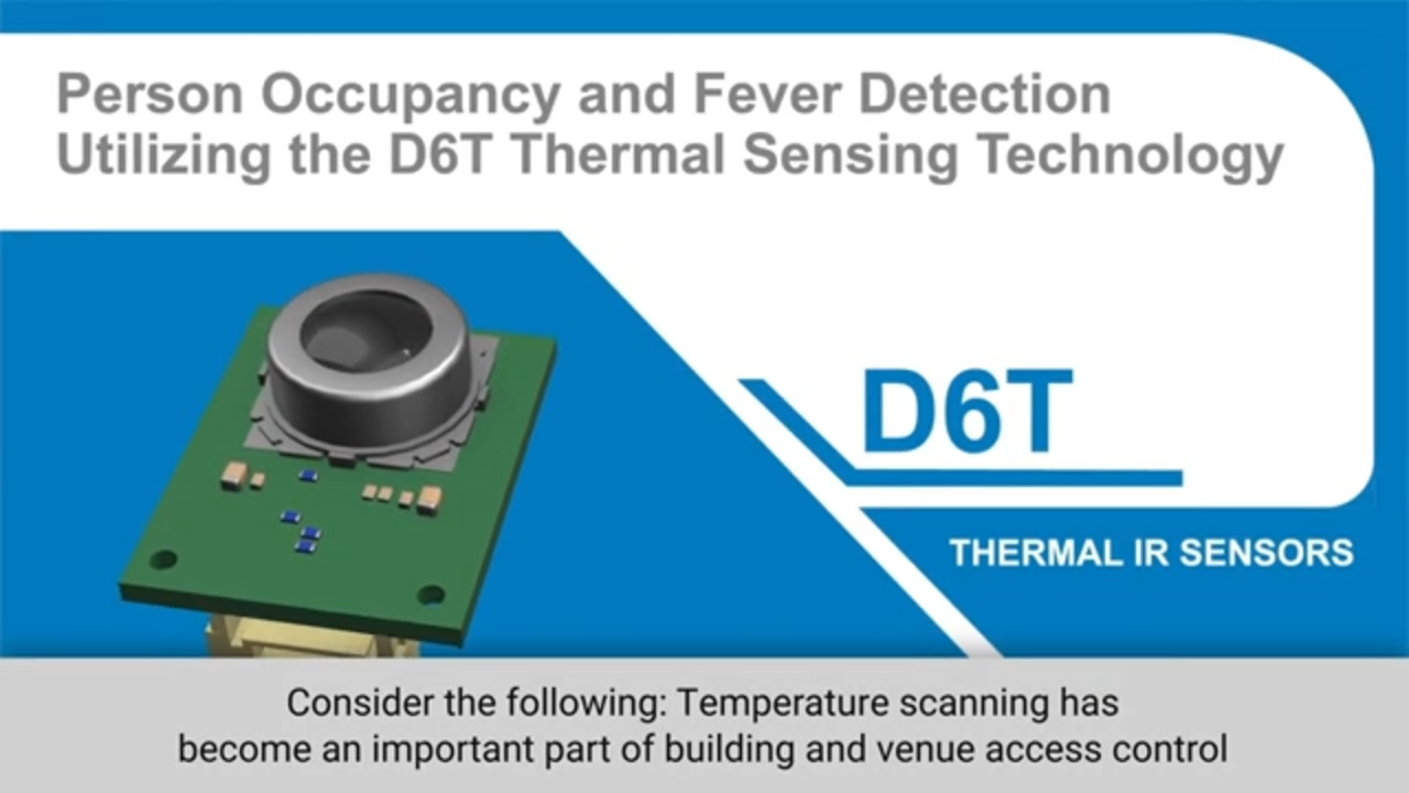Omron D6T Thermal IR Sensors with Slot Machines