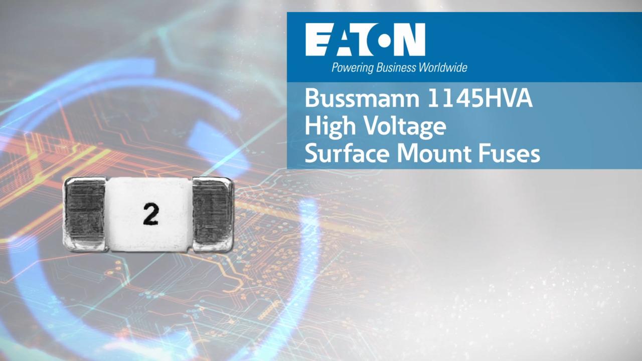 High Voltage 1145HVA Automotive Surface Mount Fuses