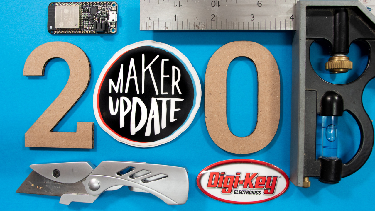 Binary Revolution [Maker Update #200]
