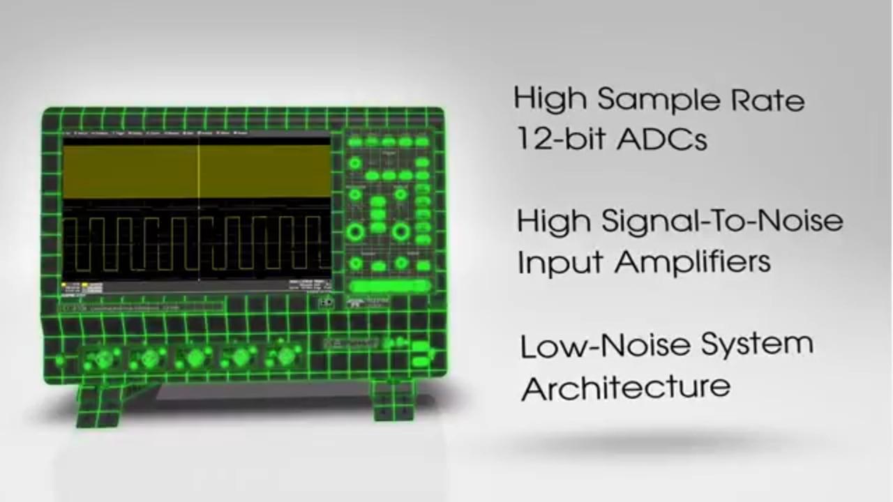12 bit High Definition Oscilloscope - Teledyne LeCroy HDO