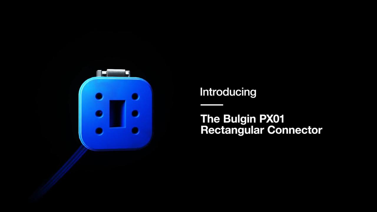 The Bulgin Rectangular Power Connector PX01 Series