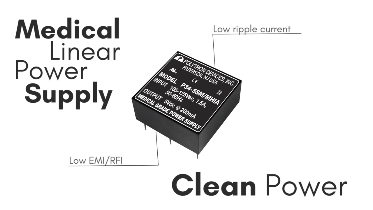 Power Supplies for Medical Equipment
