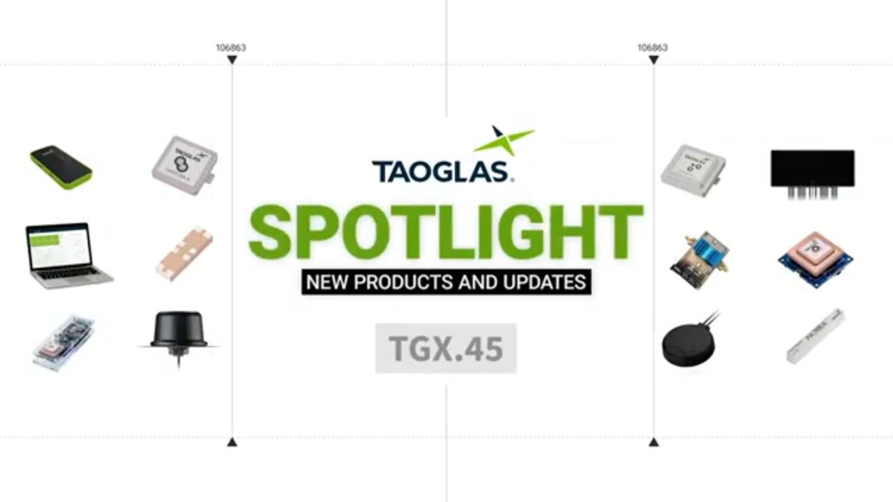Taoglas Wideband 5G/4G 2*MIMO Cross Polarized Antenna with Multi-Mount Bracket