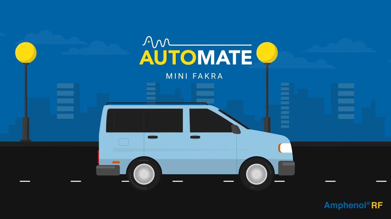 AUTOMATE® Mini-FAKRA Type A Automotive Connector System