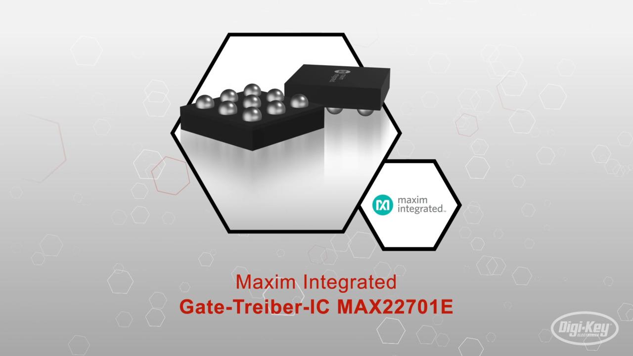 Gate-Treiber-IC MAX22701E   Datasheet Preview