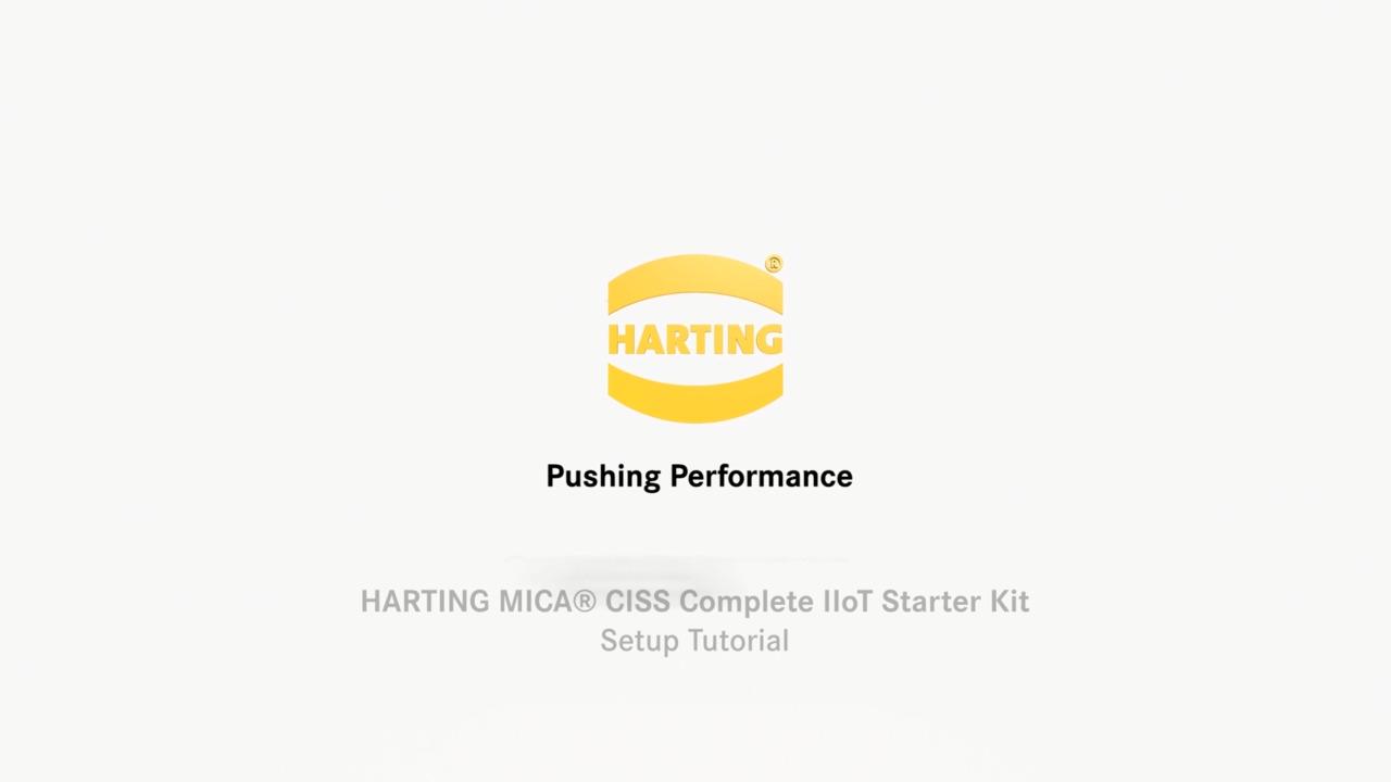HARTING MICA® CISS Complete IIoT Starter Kit - Setup Tutorial