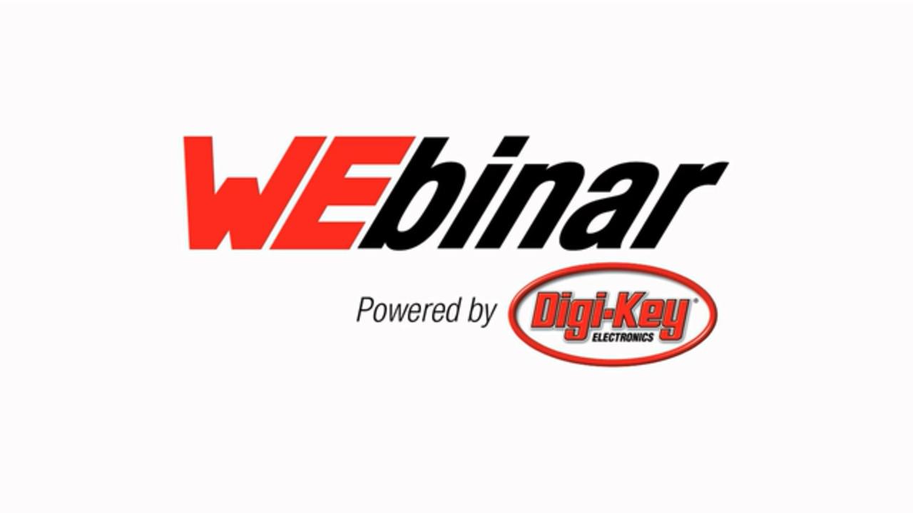 WEbinar Powered by Digi-Key: Aluminum Polymer H-Chip Capacitors