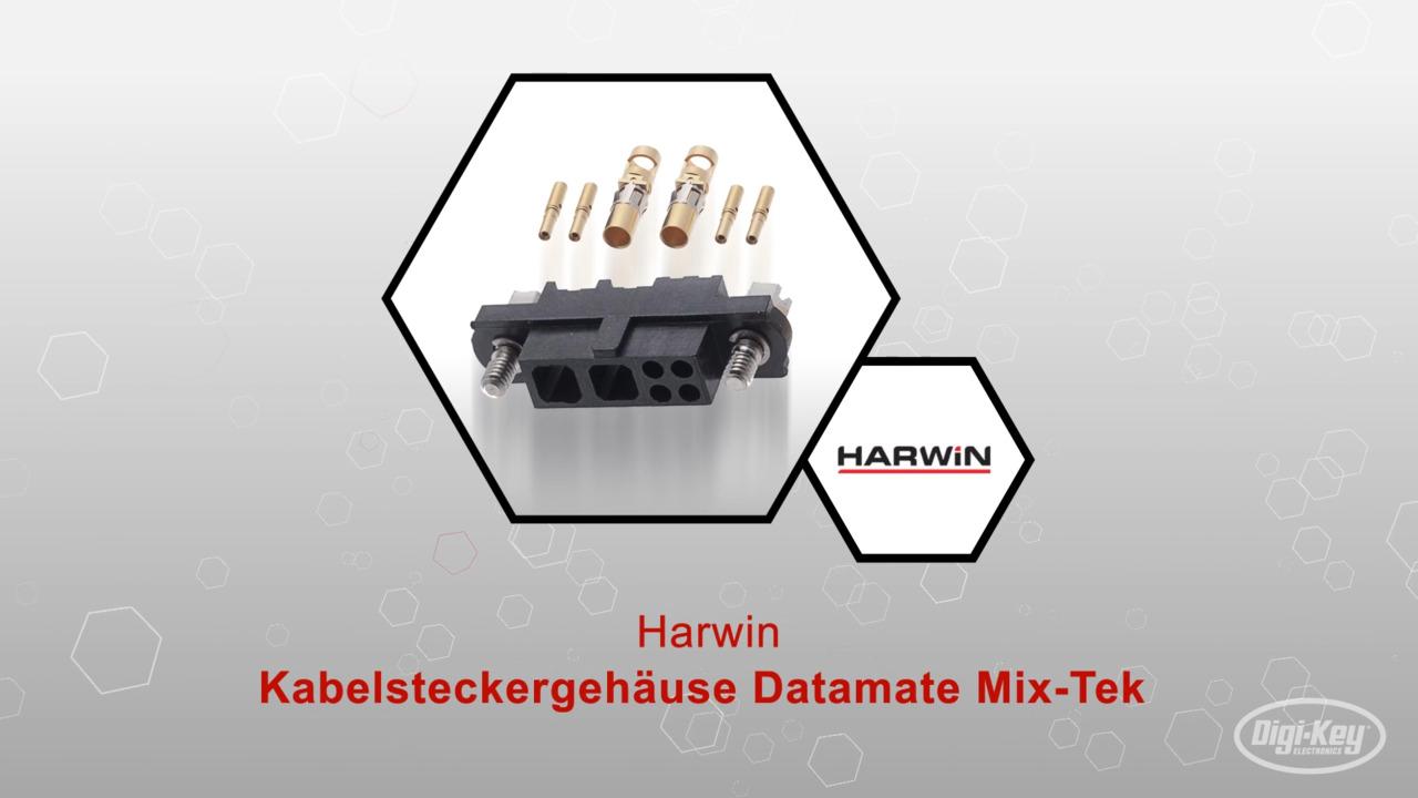 Kabelsteckergehäuse Datamate Mix-Tek | Datasheet Preview