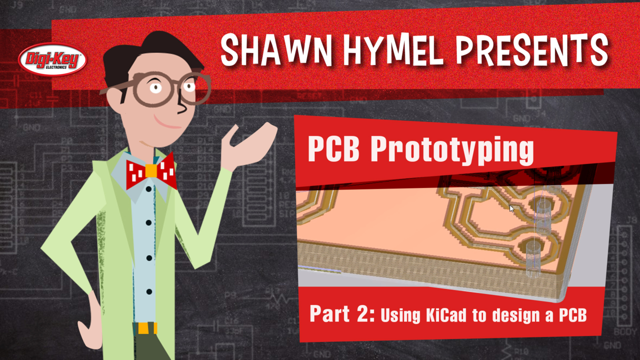 Using KiCad to design a PCB