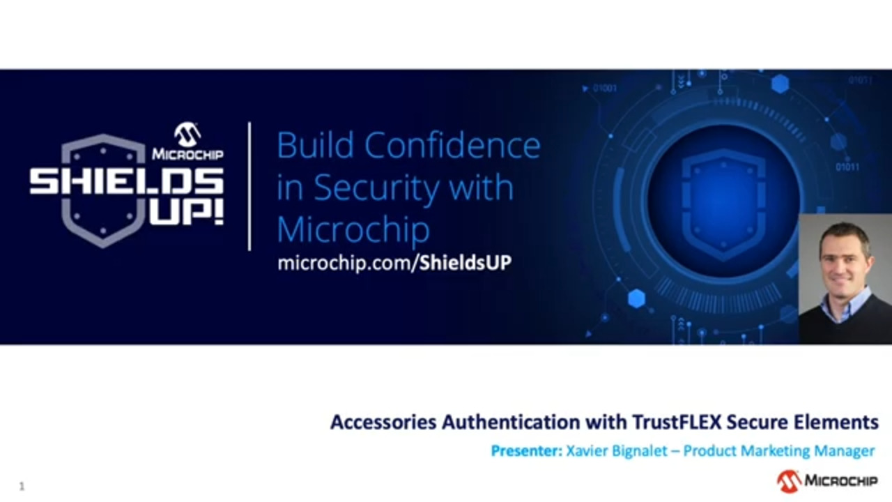 Shields UP #20 - Accessories Authentication with TrustFLEX Secure Elements