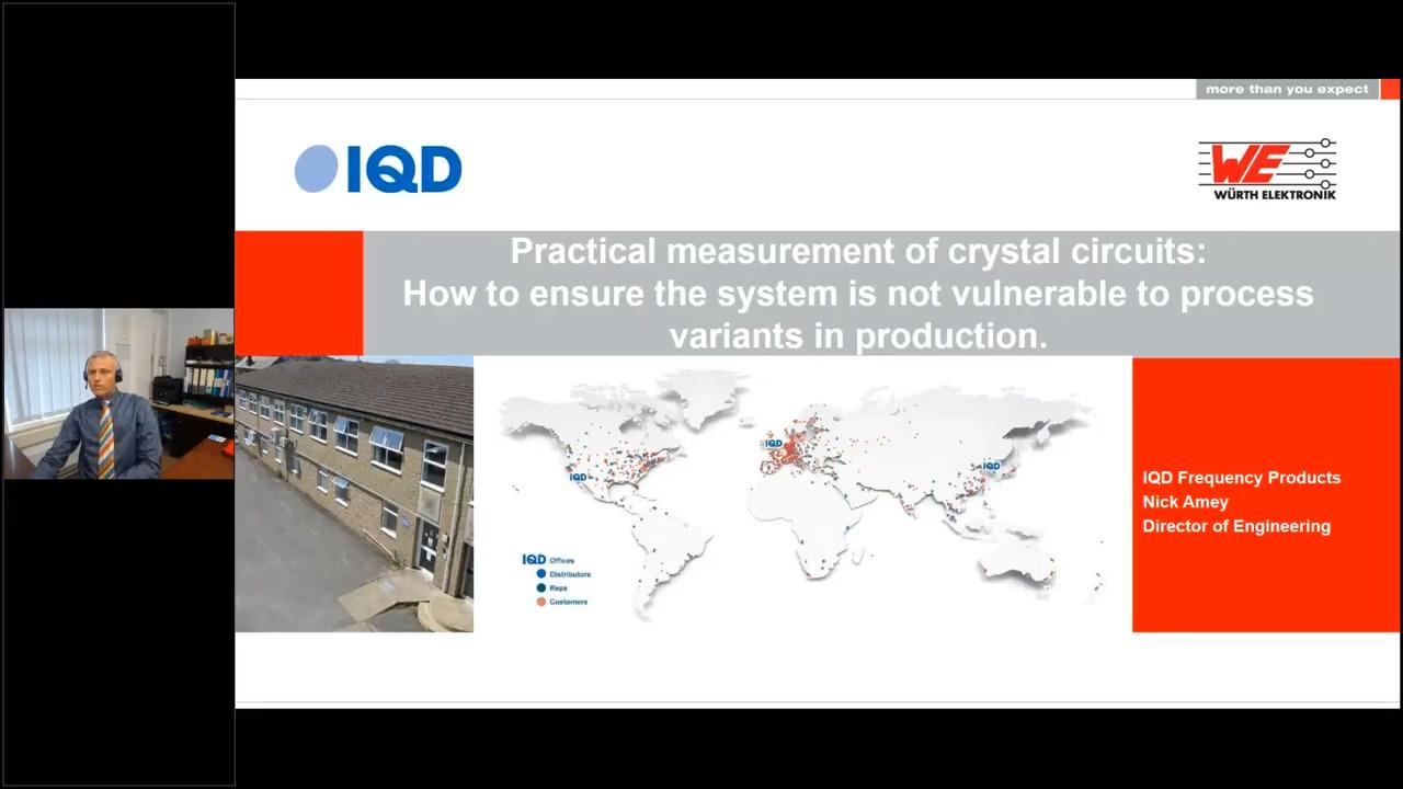 WEbinar Powered by Digi-Key: Practice Measurement of Crystal Circuits