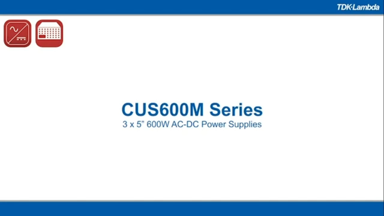 CUS600M Series of Power Supply