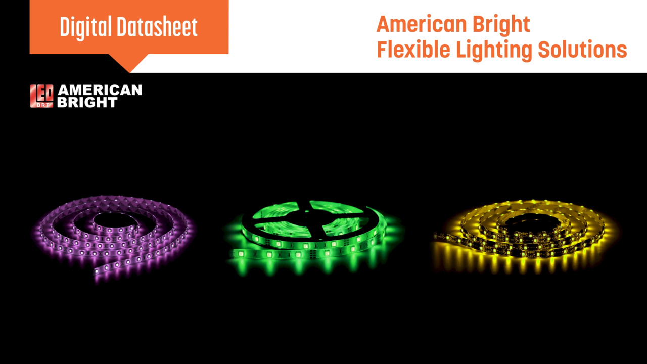 American Bright Flexible Light Strip Product Offering