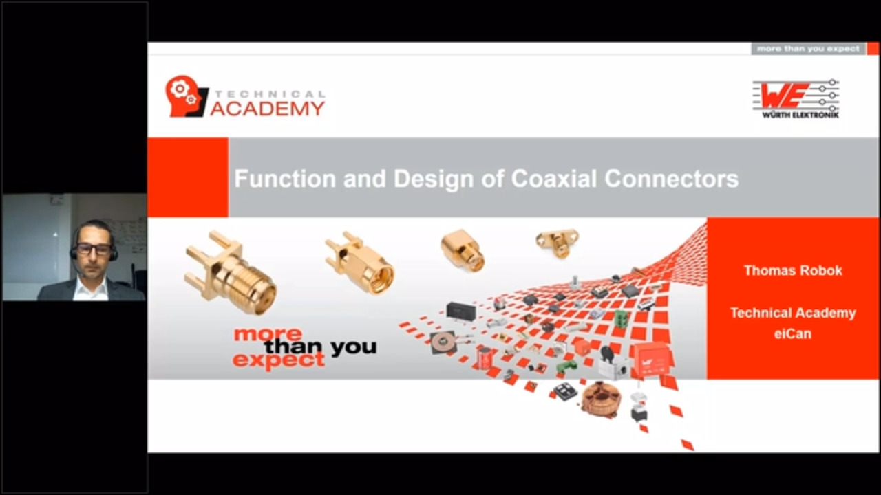 WEbinar Powered by Digi-Key: Function and Design of Coaxial Connectors