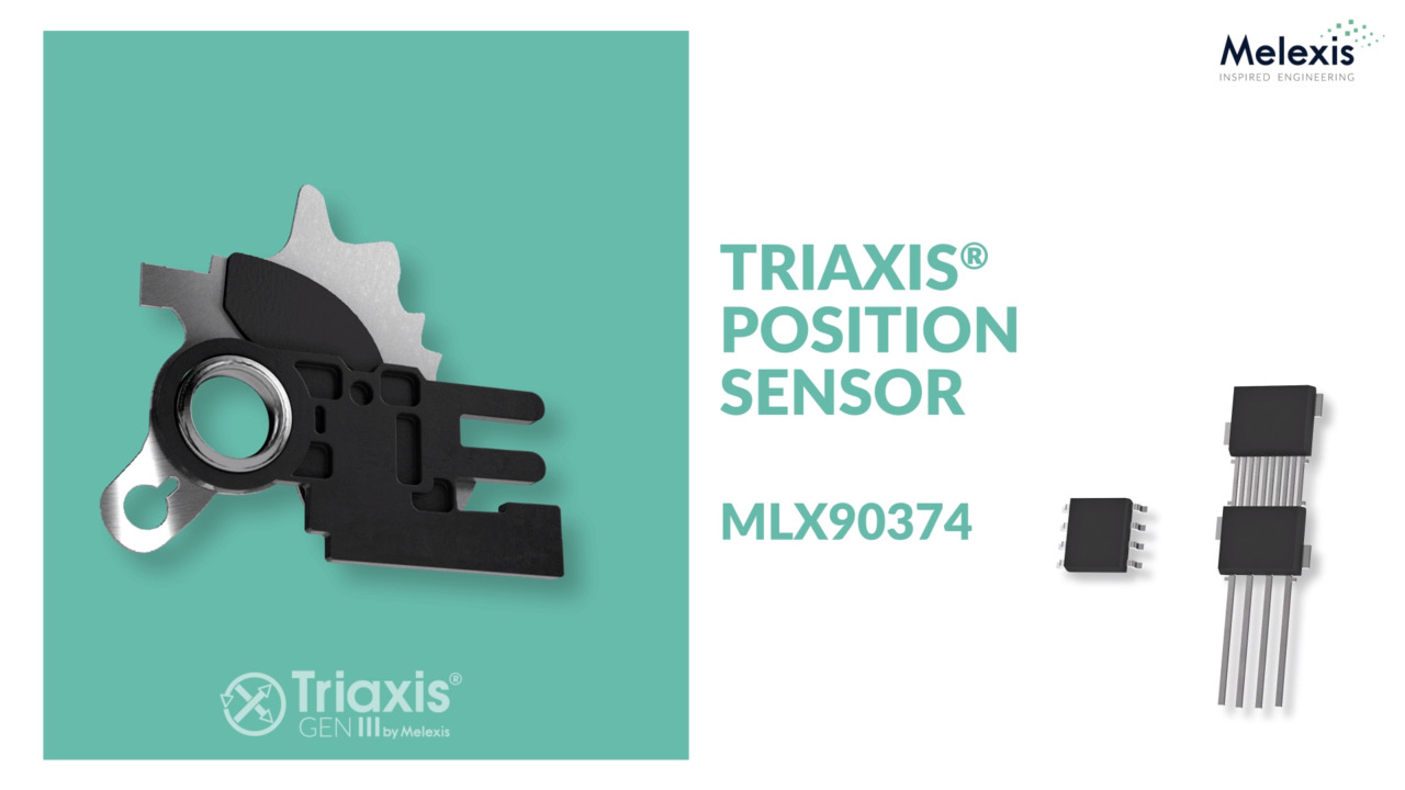 Triaxis Position Sensor IC with Dual Output (MLX90374)