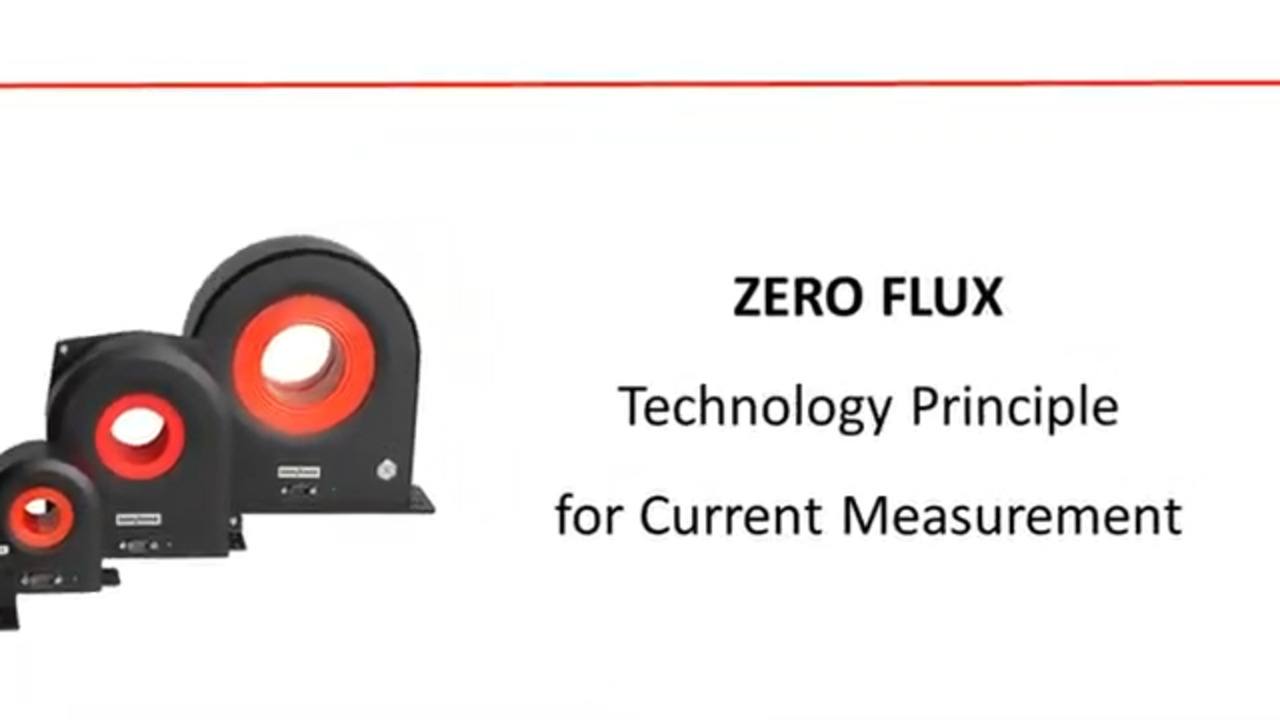 Zero Flux Current Transducer Principle