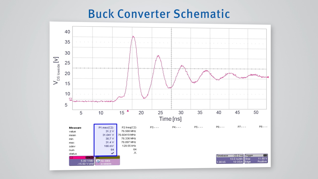 Overshoot and EMI in Buck Converters - Infineon Technologies