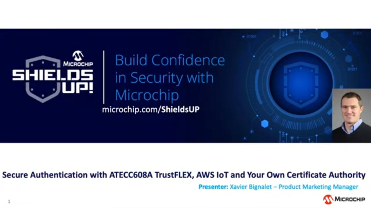 Shields UP #16 - Secure Auth w/ ATECC608A TrustFLEX, AWS IoT & Your Own Certificate Authority