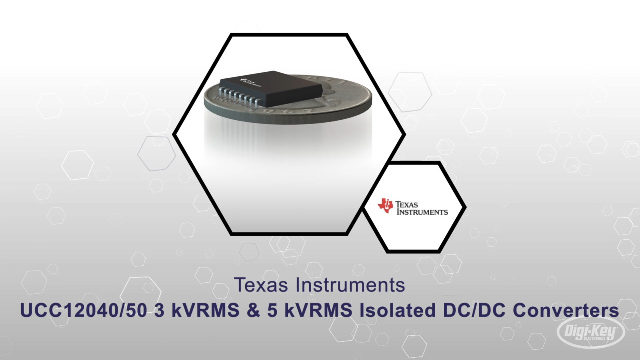 UCC12040/50 3 kVRMS & 5 kVRMS Isolated DC/DC Converters   Datasheet Preview