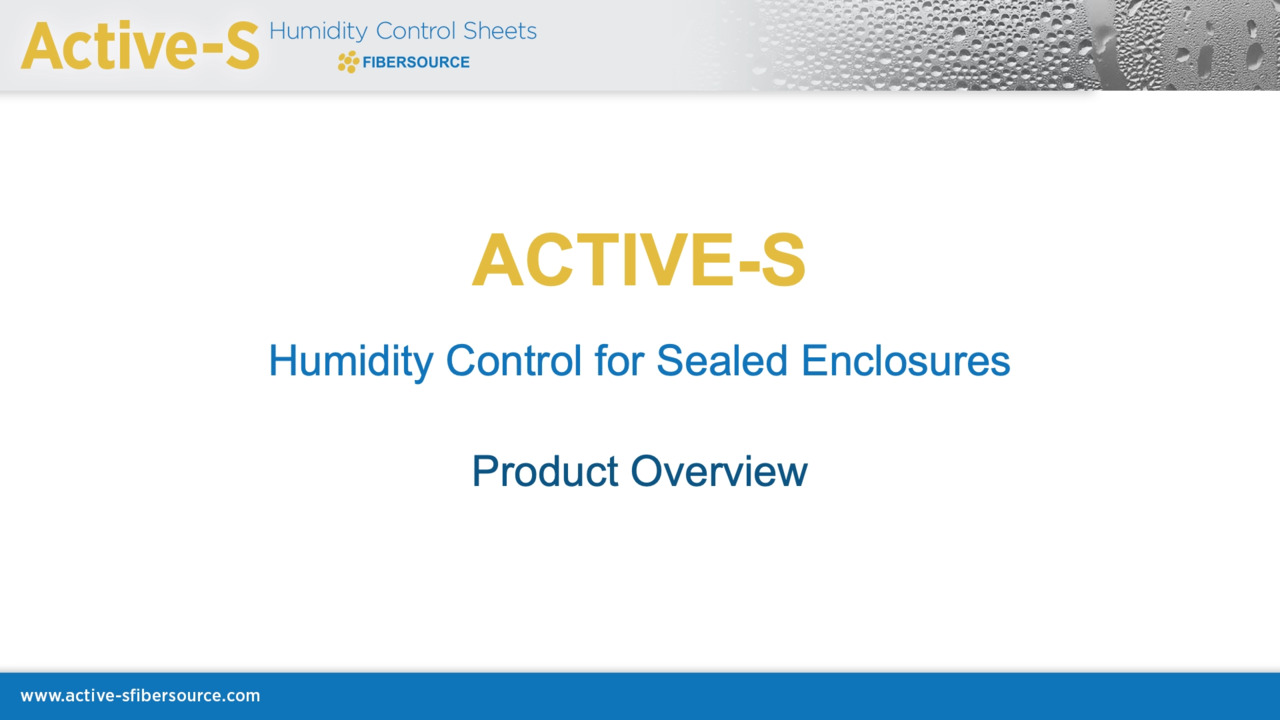 Active-S Product Presentation