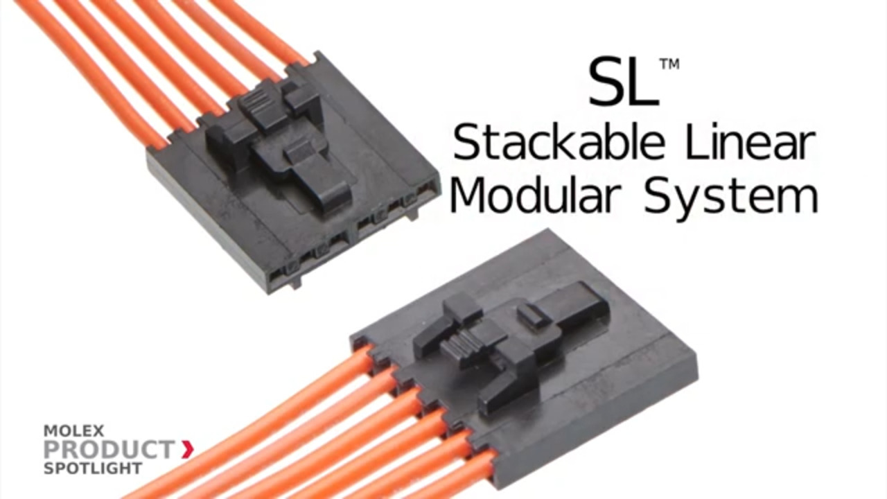 Molex SL Modular Connectors