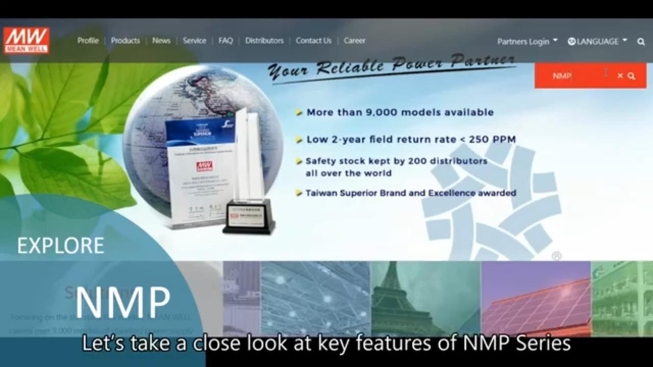 MEAN WELL NMP Series Modular Power Supplies