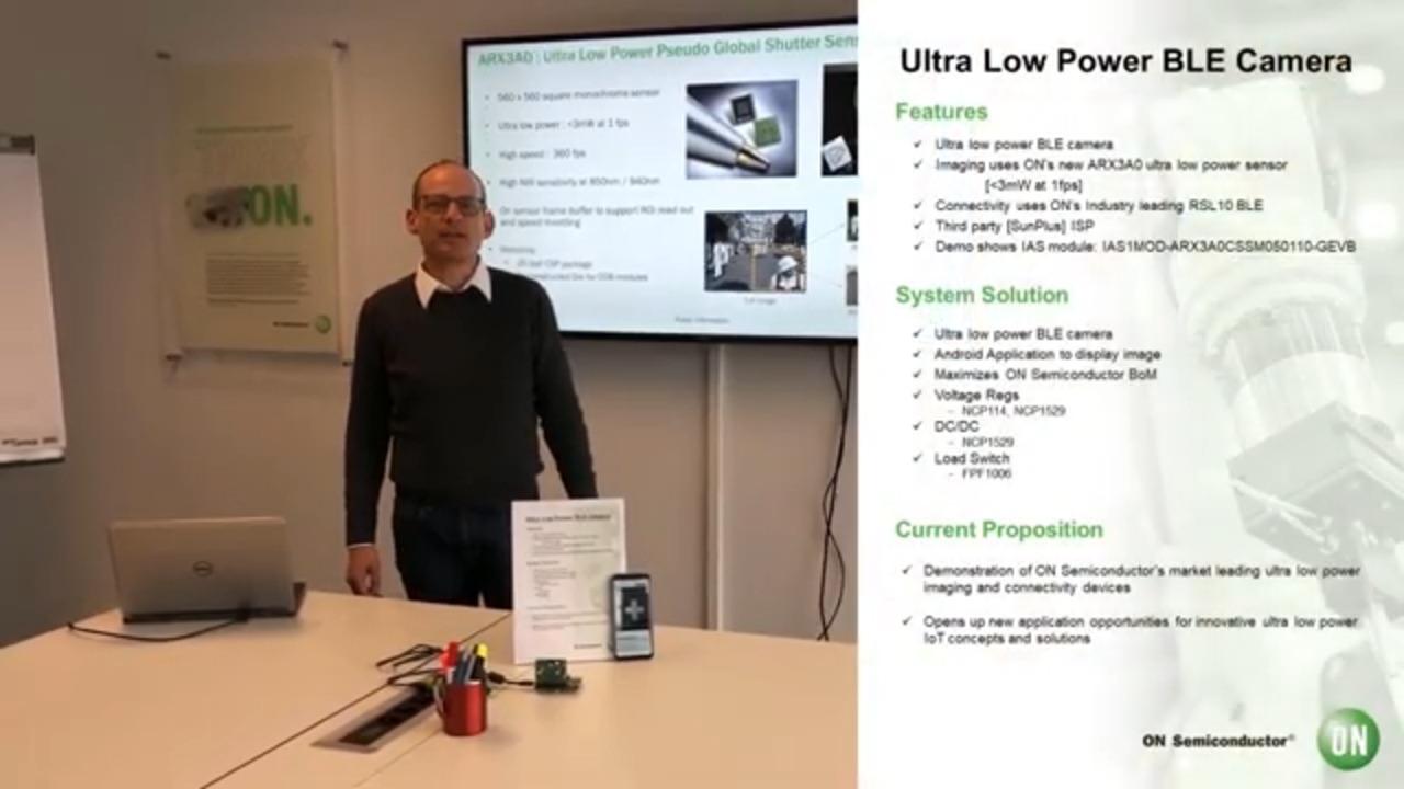 Ultra-Low Power Pseudo Global Shutter Sensor Demo