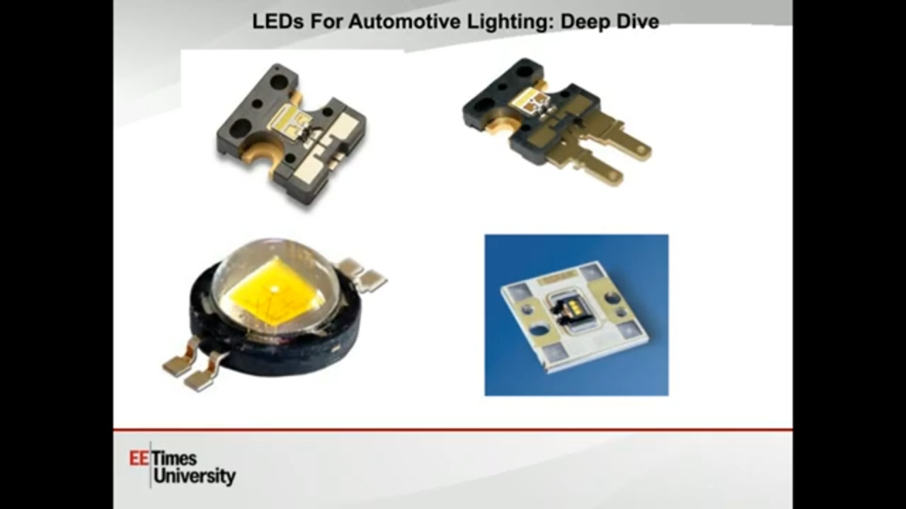Design for Next Gen Automotive Lighting Requirements | EETimes University Part 3