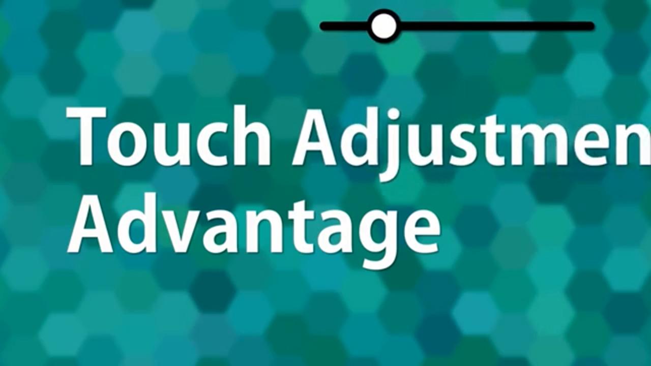 Noritake GT Series   Touch Adjustment Advantage