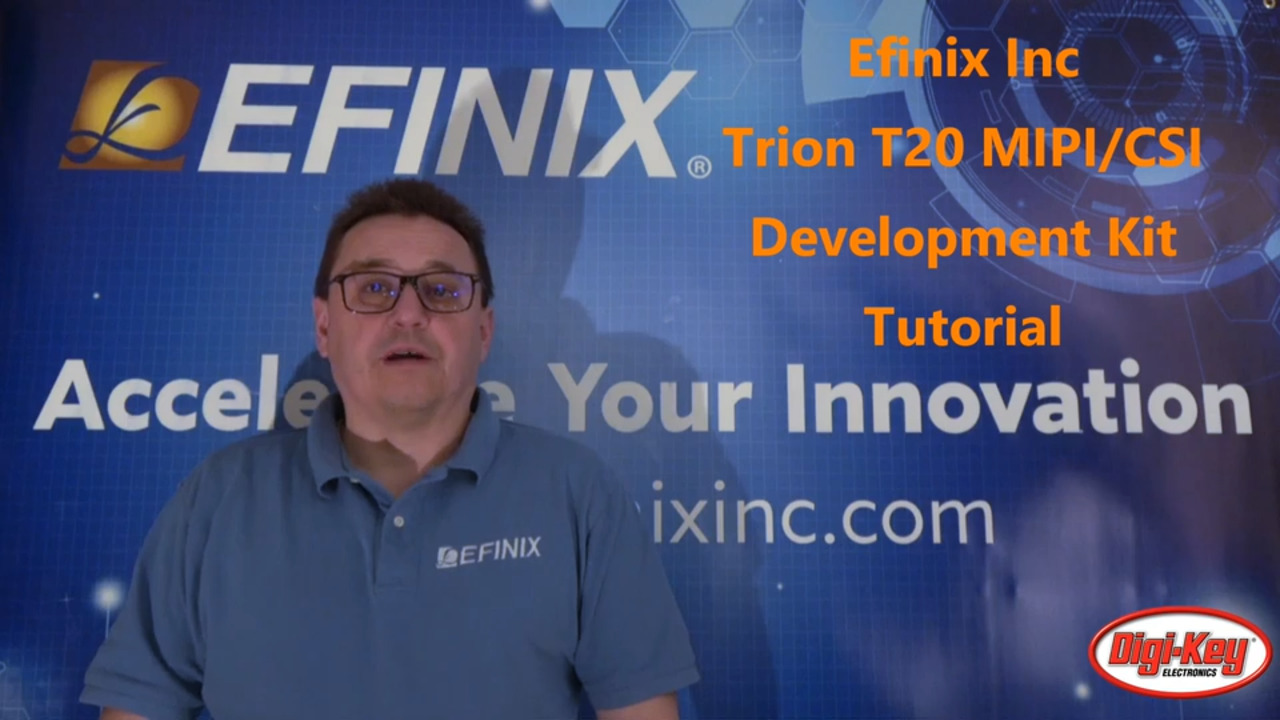 Trion T20 MIPI/CSI Development Kit Overview, Functional Tour and Demonstration
