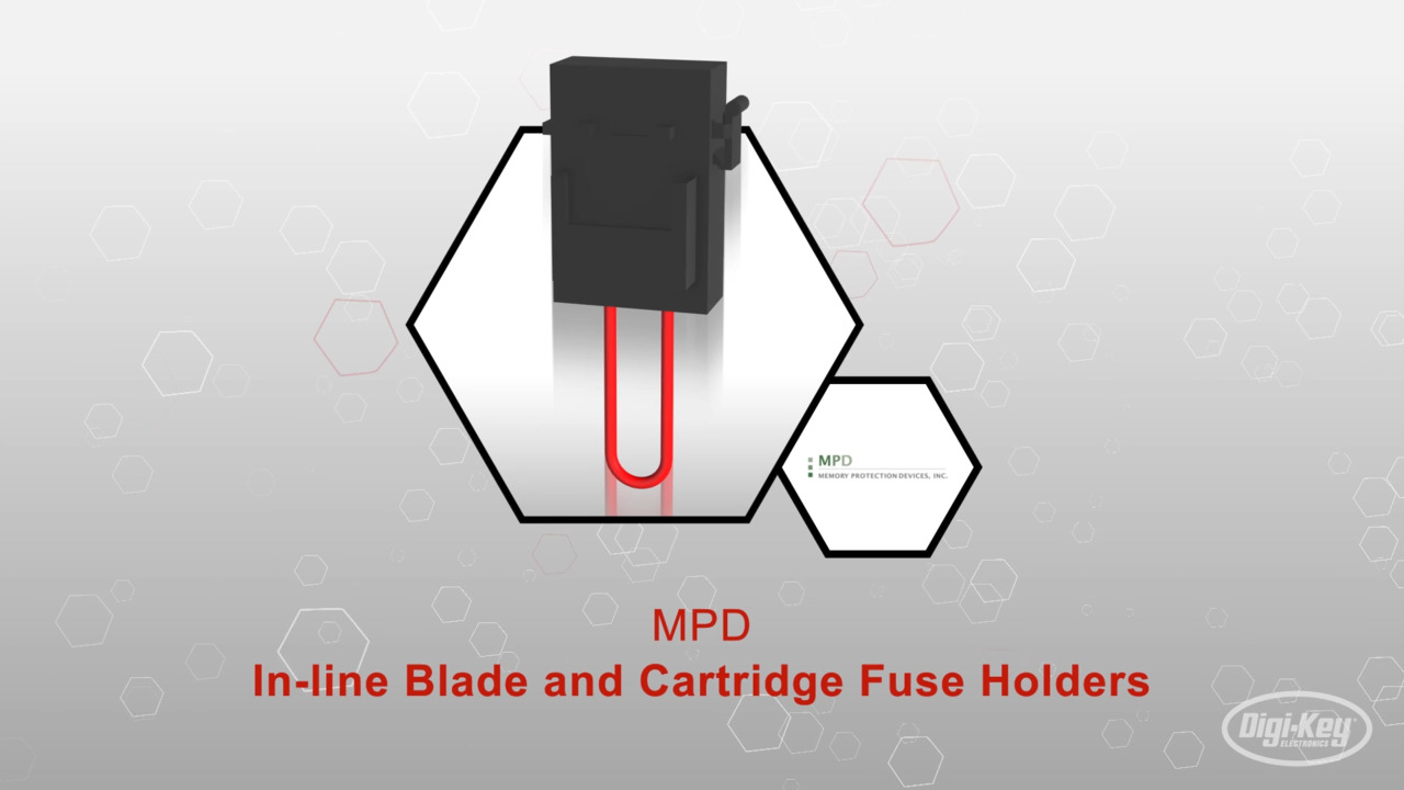 BF351 - In-line Blade and Cartridge Fuse Holders | Datasheet Preview