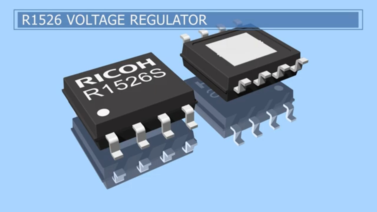 R1526 42V/300mA Voltage Regulator with high EMI noise immunity