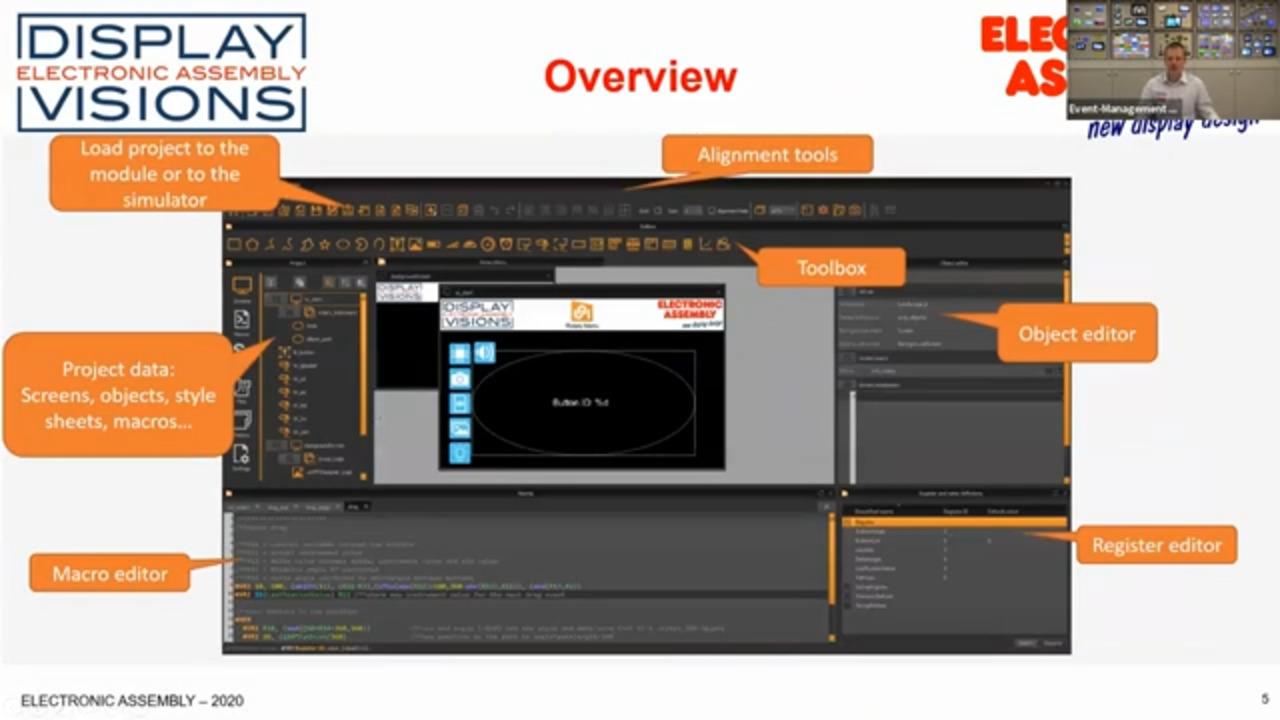 Introduction uniTFTDesigner V1.2 Display Graphics Development Software